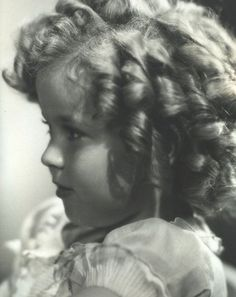 Shirley Temple Baby | Shirley Temple, 1930s. Everyone wanted their beautician to give their little girls the Shirley Temple curls, even to this day