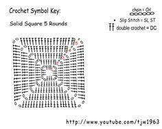 CAL Sac 22 carrés au crochet (2) – Abeilles et Petites Mains