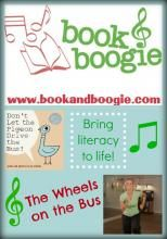 """Book & Boogie"" - The Wheels on the Bus (literacy with music and movement)"