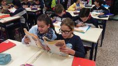 Marista castilla @CastillaMarista Lectura compartida como técnica cooperativa en 6° #compostelaenruta #Palenciaenruta