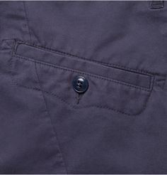 Folk Slim-Fit Brushed-Cotton Trousers | MR PORTER