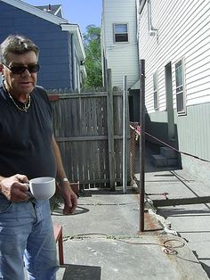 Neighbors worked together to build Curtis, a Vietnam veteran, a much-needed privacy fence.