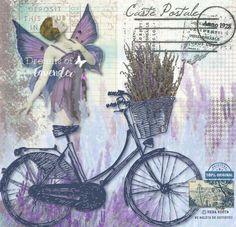 Láminas decoupage, lavanda, lavender