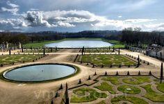 PARIS (França): Jardins do Palácio de Versalhes.