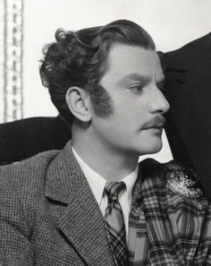 Anton Walbrook. Crazy sideburns can't dim the beauty.