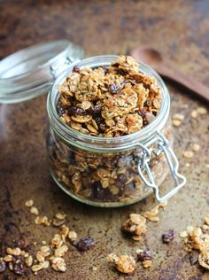 Say hello to the best granola everrrrrrr. I know, I've gone on and on about my other granola recipes but this one, it takes the cake. The cinnamon raisin flavor is absolutely irresistible and it's packed full of nutritional seeds like hemp, chia, sunflower, pumpkin, and ground flax. PLUS it's gluten-free, nut-free and vegan which …