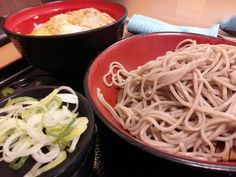 -FUJI SOBA- It's a cheap soba shop. Quality varies depending on the store. Pork cutlet bowl and Cold soba Combo. $7.90 http://alike.jp/target/search_result_all.html?keywords=%E5%AF%8C%E5%A3%AB%E3%81%9D%E3%81%B0