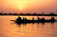 Río Saloum, Senegal