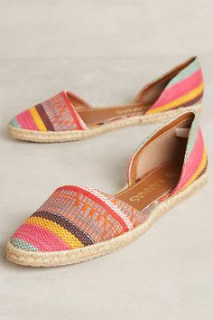 Kaanas Tahiti Espadrilles - anthropologie.com#anthrofave