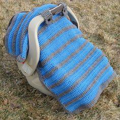 CROCHET PATTERN Simply Sweet Car Seat Canopy / Blanket
