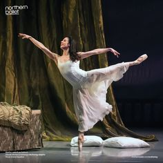 Northern Ballet Premier Dancer Martha Leebolt as Cathy in Claude-Michel Schönberg's Wuthering Heights, choreographed by David Nixon OBE.Photo Emma Kauldhar.