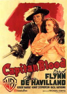 Captain Blood (1935) - Errol Flynn, Olivia de Havilland, Lionel Atwill, Basil Rathbone