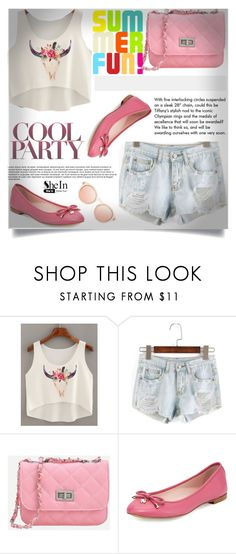 """""""SheIn #5/5"""" by almedina-86 ❤ liked on Polyvore featuring Kate Spade, Tiffany & Co. and shein"""