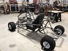 Spider carts Grand Daddy build - DIY Go Kart Forum Go Kart Buggy, Off Road Buggy, Go Kart Frame Plans, Go Kart Designs, Go Kart Steering, Drift Trike Motorized, Go Kart Engines, Homemade Go Kart, Go Kart Parts