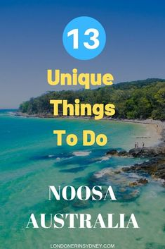 The best 13 unique things to do in Noosa Queensland Travel Advice, Travel Guides, Travel Tips, Travel Info, Noosa Australia, Australia Travel, Popular Holiday Destinations, Travel Destinations, Stuff To Do