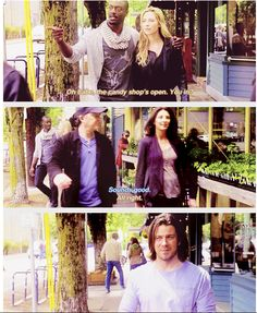 "{GIFset} Elliot is just like, ""I ship them so hard..."""