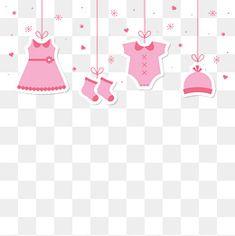 Vetor de bebê roupas