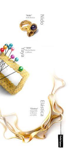 CECILIA CAPISANO-AR joyeria contemporanea: Colecciones