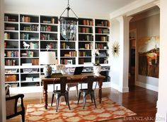 converting formal dining space to an office - Google Search