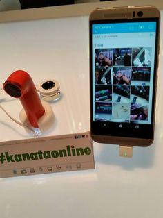 HTC Re es una cámara simple y pequeña, lista para tomar fotos y vídeo. Es resistente al agua (hasta un metro), tiene Wi-Fi y Bluetooth para conectarse a tu dispositivo con el app Re y puedes ver, editar y compartir lo que capturas #MWC15 #kanataonline
