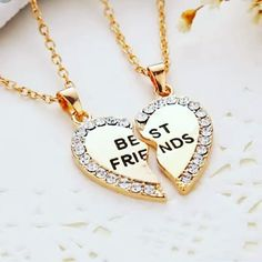 Lovely best freind gift #jewelry #jewels #jewel #fashion #gems #jewellery Rings For Girls, Wedding Rings For Women, Rings For Men, Gem S, Gold Necklace, Engagement Rings, Jewels, Jewellery, Fashion