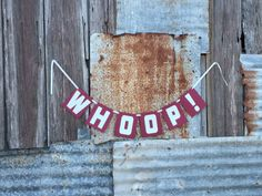 Texas ATM Aggie Whoop/Gig 'Em Banner for Parties by LeslisDesigns, $10.00