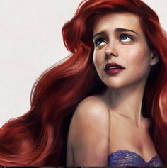 An artist has just drawn Disney's Ariel in real life and she is stunning