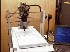 homemade Dremel CNC machine.  http://bobsmetalcasting.home.comcast.net/~bobsmetalcasting/images/t3-Comp-1-2.jpg