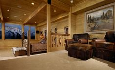 Paintbrush Ranch ~ Western Bedroom ~ Check out that view!!!