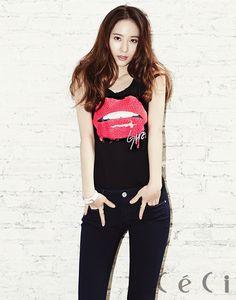 ff(x)'s Krystal CéCi Korea Magazine May 2014