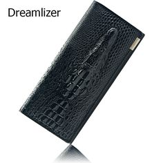Cheap leather satchel bag, Buy Quality bag genuine leather directly from China leather dragon bag Suppliers: Black Friday Fashion Genuine Leather Women Clutch Wallet 3 Fold Crocodile Head Woman's Purse Carteras Cellphone Bag