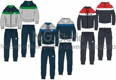 ADIDAS TRACKSUITS MAN -SPORTSWEAR  FITNESS by Giuseppe Zagonia at Coroflot.com