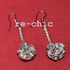 Coffee pods earrings | Orecchini con capsule Nespresso riciclate