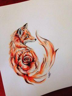 Foxies fox tattoo, tattoos и tattoo designs. Wolf Tattoos, Animal Tattoos, Cute Tattoos, Body Art Tattoos, Deer Tattoo, Raven Tattoo, Sleeve Tattoos, Stomach Tattoos, Tattoos Skull