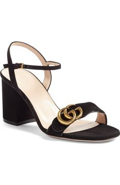 Gucci Marmont Sandal (Women) available at #Nordstrom