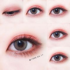 Korea Eye Make Up Pin By #Akiwarinda #Koreanmakeuptutorials