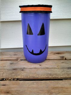Jack-o-Jar! by ToastyBarkerBoutique on Etsy