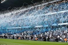 City supporters have a complicated relationship with the Champions League, but they helped create a special atmosphere before kick-off Manchester City Wallpaper, Champions League Semi Finals, Complicated Relationship, Football Stadiums, Terraces, Post Office, Real Madrid, Citizen, Old Things