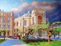 levkonoe: Бабынин Валерий. Оперный театр вечером