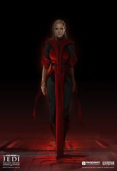 In the story, we discover that this witch we thought was against Cal the whole time is actually a pawn of Taron Malicos. Merrin realizes she has been deceived by Malicos and when things escalate, she turns on him and chooses to leave Star Wars Characters Pictures, Star Wars Pictures, Star Wars Images, Female Characters, Fantasy Characters, Star Wars Concept Art, Star Wars Fan Art, Star Wars Rpg, Star Wars Jedi