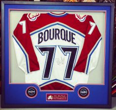 We think this Ray Bourque jersey looks awesome! Come see FastFrame of LoDo  for all your jersey framing needs! 5da103070