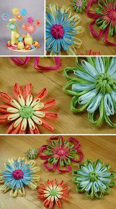 Raffia Flowers                                                       …