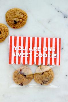 DIY: Cookie Valentine (with free printable!)