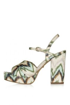 LEONA Printed Platforms. We shall be buying these without a doubt. xx