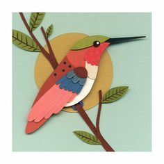 Amazing collection of birds and other paper art from Bunny Pirates