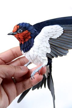 This Columbian designer, currently based in England, is attracting attention for her remarkable paper birds.
