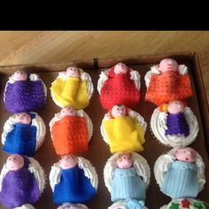 Cupcakes for baby shower by mom and I.