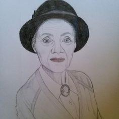 Portrait of an Emmerdale character, Edna Birch By Laura Paasivirta Emmerdale Characters, Birch, My Arts, Portrait, Headshot Photography, Portrait Paintings, Drawings, Portraits