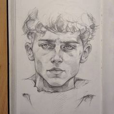 eally quick one (I'll never get tired of drawing Timmy)✨ Cool Art Drawings, Pencil Art Drawings, Art Drawings Sketches, Cartoon Drawings, Aesthetic Drawing, Aesthetic Art, Arte Sketchbook, Art Plastique, Portrait Art