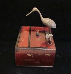 Vintage Cigarette Box Dispenser 1920's by PowerOfOneDesigns, $299.99